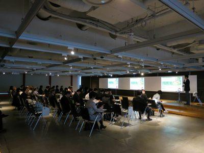 TUSセミナー2012講演の様子です