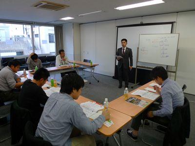 デイサービスの集客セミナーの様子 行政書士小澤信朗氏講演